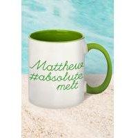 #absolutemelt Personalised Mug