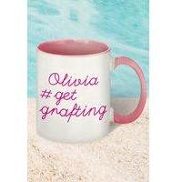 #getgrafting Personalised Mug