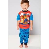 Boys Personalised Paw Patrol Born Brave Pyjamas