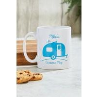 Personalised Caravan Mug