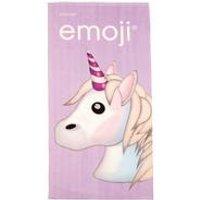 Personalised Emoji Unicorn Towel