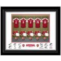 Personalised Arsenal FC Dressing Room Print