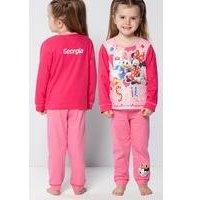 Personalised Girls Minnie Mouse Smile Pyjamas