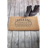 Personalised Garage Door Mat