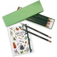 Gardeners Notebook and Personalised Pencils