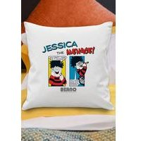 Personalised Beano Problem Solved Cushion Cover