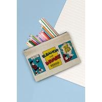 Personalised Beano Top Dog Canvas Pencil Case