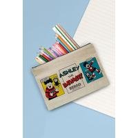 Personalised Beano Water Pistol Canvas Pencil Case