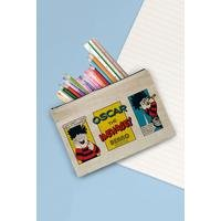 Personalised Beano Problem Solved Canvas Pencil Case