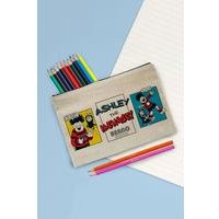 Personalised Beano Water Pistol Canvas Pencil Case Set
