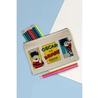 Personalised Beano Problem Solved Pencil Case Set