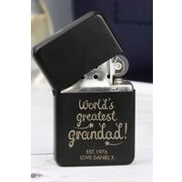 Personalised Worlds Greatest Grandad Lighter