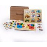Personalised Wooden Puzzles - Vehicle