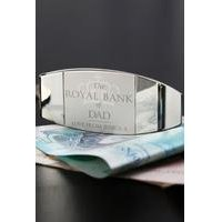Personalised Royal Bank of... Money Clip