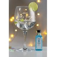 Personalised Bombay Sapphire Gin Gift Set