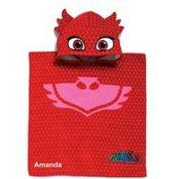 Personalised PJ Masks Owlette Poncho Towel