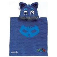 Personalised PJ Masks Catboy Poncho Towel