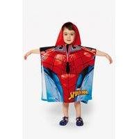 Personalised Spiderman Poncho