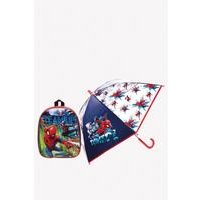 Personalised Spider-Man Backpack and Umbrella Set