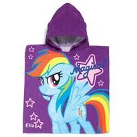 Personalised My Little Pony Poncho