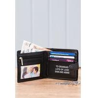 Mens Personalised Wallet