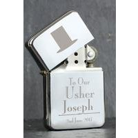 Personalised Decorative Wedding Usher Lighter