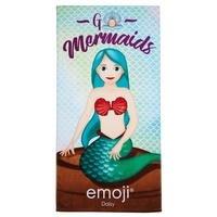 Personalised Mermaid Emoji Towel