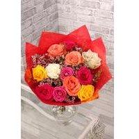 Colourful Valentine Roses