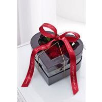 Red Heart Box With Personalised Ribbon at Ace Catalogue