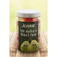 Personalised We Make A Great Pear – Pear Drops