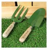 Personalised Fork and Trowel Set