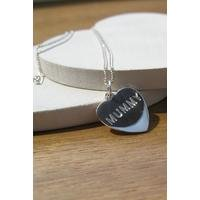 Personalised Single Heart Necklace