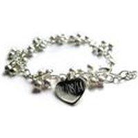 Shimmer Ball Personalised Bracelet