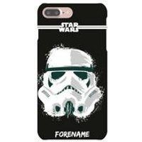 Personalised Storm Trooper Paint iPhone 6/6S Case