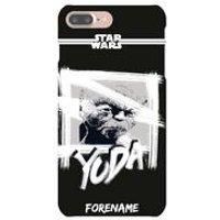 Personalised Yoda Paint iPhone 7 Case