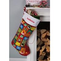 Personalised Advent Calendar Christmas Stocking