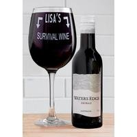 Personalised Red Wine Set