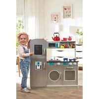 Personalised Modern Wooden Play Kitchen