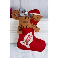 Personalised Good Cat Stocking