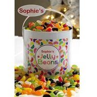 Personalised 2kg Jelly Bean Paint Tin