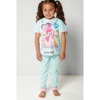 Girls Personalised My Little Pony Friendship Pyjamas