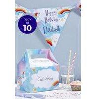 Personalised 10 Unicorn Boxes
