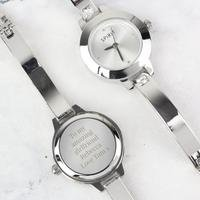 Personalised Watch Set: Watch, Bracelet and Necklace