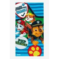 Personalised Paw Patrol Towel