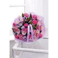 Personalised Luxury Happy Birthday Bouquet With Ribbon