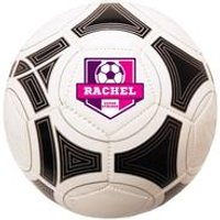 Personalised White/Pink Football