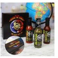 Personalised Hot Headz - Around the World Gift Set