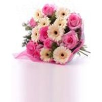 Personalised Pink Cafe Bouquet