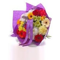 Personalised Rainbow Bouquet With Ribbon