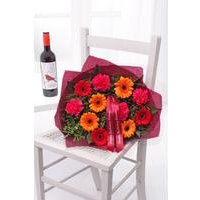 Personalised Red Wine Bouquet